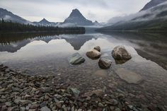 Two Medicine Lake, Glacier National Park, Montana - photo by Jacob W. Frank (pinned by haw-creek.com)