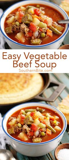 Quick And Easy Vegetable Beef Soup