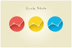143 Circle Stats (freebie by pixelcave)