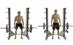 Rack Pull deadlift