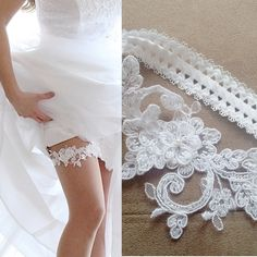LUXURY wedding garter by WeddingBoutiqueBride on Etsy Luxury Wedding, Bride, Crystals, Trending Outfits, Wedding Dresses, Wedding Garters, Lace, Unique Jewelry, Handmade Gifts