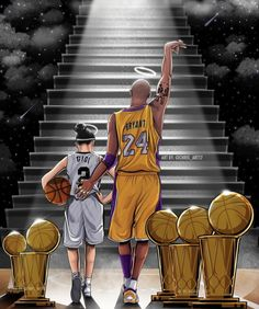 kobe bryant family * kobe bryant - kobe bryant quotes - kobe bryant wallpaper - kobe bryant family - kobe bryant and daughter - kobe bryant black mamba - kobe bryant tattoo - kobe bryant quotes motivation Kobe Bryant Lebron James, Kobe Bryant Michael Jordan, Michael Jordan Basketball, Kobe Bryant 24, Basketball Kobe, Girls Basketball, Basketball Tattoos, Girls Softball, Kobe Bryant Daughters