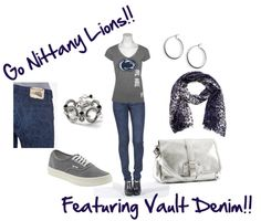 """""""Penn State"""" by trinagreat on Polyvore"""