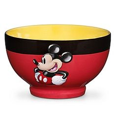 Shop Disney dinnerware featuring Mickey and Minnie Mouse and more. Disney characters on plates, bowls, and kitchen accessories brings fun to the dinner table. Cozinha Do Mickey Mouse, Mickey Mouse Kitchen, Mickey House, Mickey Mouse And Friends, Mickey Minnie Mouse, Disney Kitchen Decor, Disney Home Decor, Walt Disney, Disney Mickey