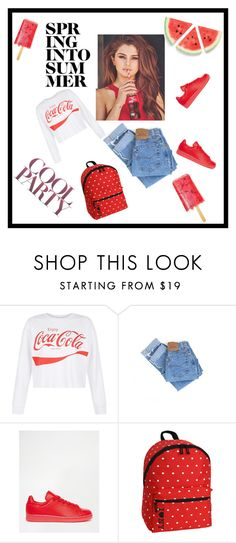 """✌✌"" by samra-sisic on Polyvore featuring New Look, Levi's, adidas and JWorld New York"