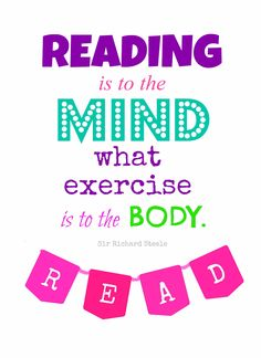 Reading does the mind good! #Reading #Books