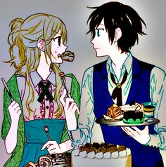 #Animecouple #sweets #Coloredbyme #Toukowhitegraphic  Se la prendi, mettere i crediti.. grazie. Eng: If you take it, put the credits.. thanks.