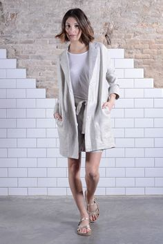 Thursday ✨ #Perfect #Summer #work #look 🔅💼💁🏽   #Light #lame #oversize #blazer & #highwaist #bermuda #silver #shiny #working #days ##style Shop now!!! #last #summersales #happbarcelona #conceptstore #shoponline #womenswear #worklook