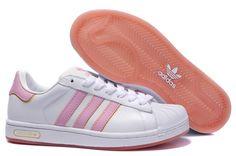 pink super star adidas