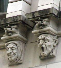 gargoyles grotesques