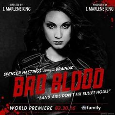 Pretty Little Liars Bad Blood Taylor Swift Spencer