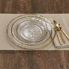 Gold Metallic Rim Glass Dinner Plate 2019 Gold Metallic Rim Glass Dinner Plate < The post Gold Metallic Rim Glass Dinner Plate 2019 appeared first on Metal Diy. Boho Kitchen, Rustic Kitchen, Dish Sets, Dinner Sets, Deco Table, Carnival Glass, Decoration Table, Dinner Plates, Dinner Table