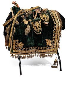 AN OTTOMAN HARNESS From the period of Sultan Abdülhamid II (1876-1909)