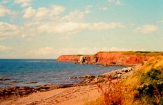Cape John, Nova Scotia, aug 1973