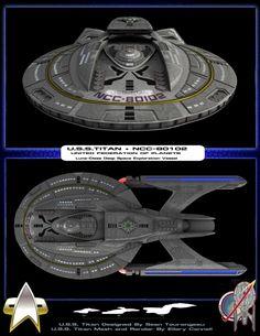 U.S.S Titan NCC-80102 - Captain William T. Riker