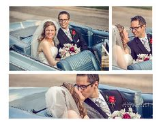 Jason Adrian Photography | wedding photography | Chicago Illinois love the idea of posing  in an old car!