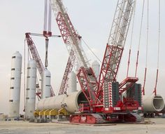 In a massive fleet expansion, leading Middle East logistics provider, Integrated Logistics Company in Ahmadi, Kuwait, has taken delivery of a new Demag CC 3800-1 crawler crane, 20 Terex AC 100/4L all terrain cranes and 10 Terex Explorer 5600 all terrain cranes. The new cranes will join a fleet of more than 2,000 machines and be utilized by Integrated throughout the Middle East and North Africa (MENA) region.