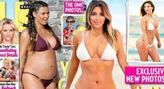 Pokazała się w tym samym magazynie, w którym odkryła ciążowy brzuszek.