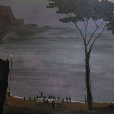Norbert Schwontkowski - 'Ultima cena', 2010, oil on canvas, 200 x 200 cm