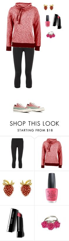 """""""Untitled #126"""" by elleceee ❤ liked on Polyvore featuring Live The Process, Antigua, OPI, Bobbi Brown Cosmetics, Converse, women's clothing, women's fashion, women, female and woman"""