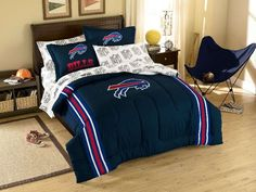 Buffalo Bills NFL Bed in Bag by The Northwest - NFL Bed in a Bag - Polyester $88.99