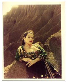 One of my style Icons Yma Sumac: In color.