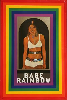 Peter Blake, Babe Rainbow- Had this in my house growing up!! Crazy... Totally forgot all about it!!