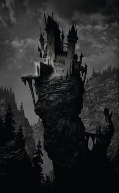 And the wizard lived in a land inaccessible, in a tower inaccessible, upon a craggy rock inaccessible. Alone with his magic, he grew strange and . . . . --EDK