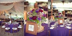 Purple Tablecloths Marquee Wedding Receptions, Calamigos Ranch, Tablecloths, Table Decorations, Home Decor, Purple, Table Toppers, Decoration Home