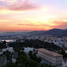 """@simonshenker's photo: """"#Sunset from #DaltVila"""""""