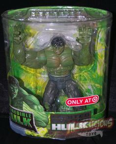 Incredible Hulk Movie Target Exclusive /// Pinned by: Marvelicious Toys - The Marvel Universe Toy & Collectibles Podcast [ www.MarveliciousToys.com ]