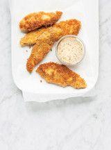Filets de poulet croustillants! http://www.ricardocuisine.com/recettes/5488-filets-de-poulet-croustillants