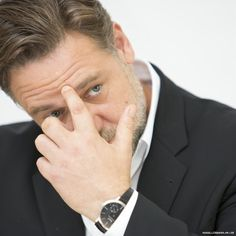 """Russell Crowe at the """"Noah"""" Press Conference in Beverly Hills on March 24, 2014 - http://russellcroweonline.com/gallery/thumbnails.php?album=65 - http://RussellCroweOnline.com"""