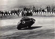 The exceptional cornering ability of the VW Beetle