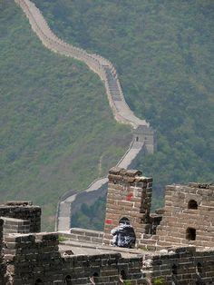 Great Wall of China. Love this shot