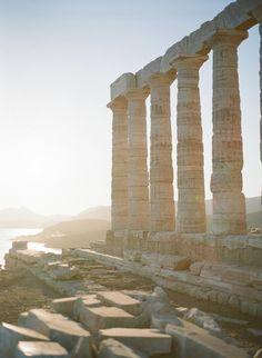 Jennifer and Alexis' Wedding at Temple of Poseidon, Greece