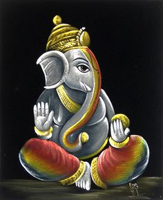 """Search Results for """"lord ganesha painting wallpaper"""" – Adorable Wallpapers Shri Ganesh, Arte Ganesha, Krishna, Ganesh Idol, Ganesha Drawing, Lord Ganesha Paintings, Velvet Painting, Buddha Art, Buddha Painting"""