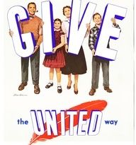 """In 16 local pastors dedicated their sermons to """"United Giving"""" - the significance of personal sacrifice and good will created by helping those in need. Sunday Sermons, Infant Mortality, Campaign Posters, Financial Stability, United Way, The Unit, Feelings, Mantra, 1960s"""