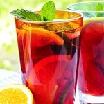 This White Wine Sangria is refreshing and perfect by the pool on a hot summer day. Only 3.4g net carbs.