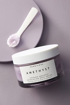 Herbivore Botanicals Amethyst Crush Exfoliating Body Polish by in Purple Size: All, Bath & at Anthropologie Turmeric Root Extract, Moisturizer For Oily Skin, Facial Cleanser, Body Polish, Gel Polish, Beauty Skin, Clean Beauty, Beauty Tips, Beauty Hacks