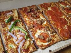 When it came to pizza, no one believed you that it should be rectangular. | 38 Problems Every Italian Kid Knows