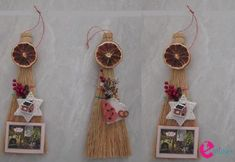 imerologia_skoupa Christmas Time, Christmas Crafts, Xmas, Cork Crafts, Dream Catcher, Kitchen Decor, Merry, Gifts, Diy