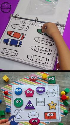 Back to School Activity Binder (Preschool)- fun busy bag ideas for toddlers and . - Back to School Activity Binder (Preschool)- fun busy bag ideas for toddlers and preschoolers! Preschool Learning Activities, Preschool Education, Back To School Activities, Infant Activities, Toddler Preschool, Preschool Crafts, Teaching Kids, Children Activities, Home School Preschool