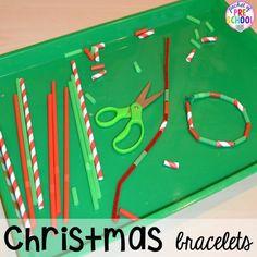 Christmas Activities and Centers for Preschool and Kindergarten: Freebies Too! - Pocket of Preschool