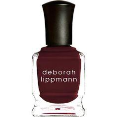 Deborah Lippmann Nail Polish - Tainted Love ($24) ❤ liked on Polyvore featuring beauty products, nail care, nail polish, nails, makeup, beauty, colorless, clear nail polish, cream nail polish i deborah lippmann nail lacquer
