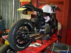 Project Yamaha XV1000 Café Racer 81' Claude.d