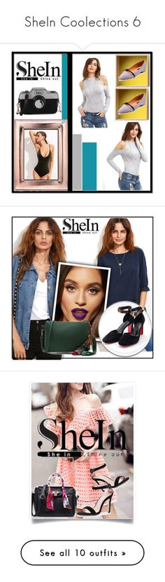 """""""SheIn Coolections 6"""" by selmamehic ❤ liked on Polyvore featuring Argento SC, Muuto, Burberry and By Terry"""