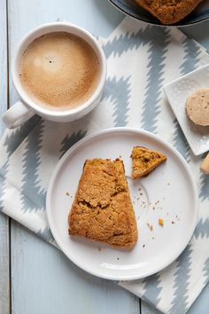 Sweet Potato Scones with Maple Cinnamon Butter | Annie's Eats