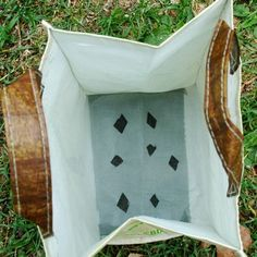 How to Grow A Garden in a Reusable Bag: Add Drainage to Lettuce Bag