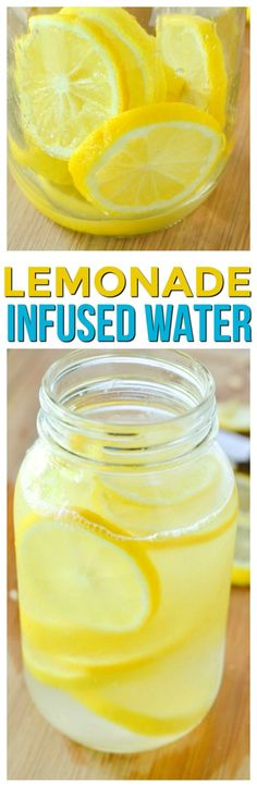 Fresh lemonade water is a great and refreshing drink recipe. If you like infused water recipes fruit filled you can add in some strawberries or even raspberries to this homemade lemonade recipe that has little sugar. via @KnowYourProduce
